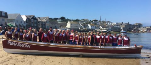 Fowey regatta :: wet, wild and a win