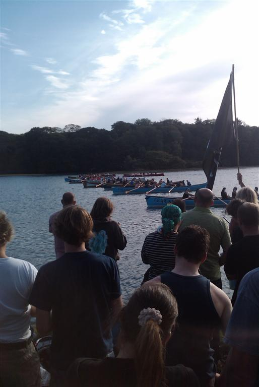 Devoran creek race start