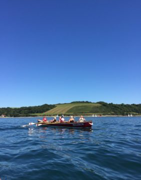 Rowing out to honour the Falmouth Classics