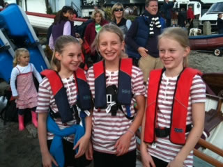 FMPGC Juniors at Helford River Race