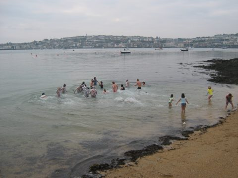 Charity Swim for New Year's Day